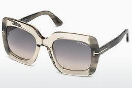 Solglasögon Tom Ford FT0580 59B - Beige/grå, Beige, Brown
