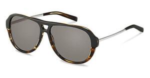 Jil Sander J3009 A polarized - grey - 84%black