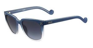 Liu Jo LJ641S 405 DENIM CRYSTAL GRADIENT