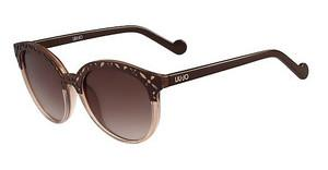 Liu Jo LJ643S 248 BROWN & LIGHT BROWN