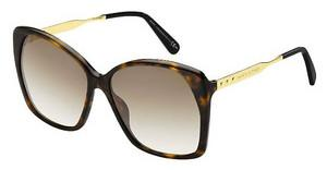 Marc Jacobs MJ 614/S ANT/CC BROWN SFDKHVN GLD (BROWN SF)