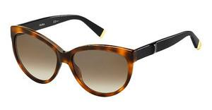 Max Mara MM MODERN III 5FC/J6 BROWN SFDKHVN BK (BROWN SF)