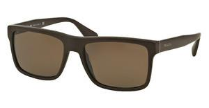 Prada PR 01SS TV64S0 DARK BROWNBRUSHED MATTE BROWN