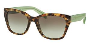 Prada PR 09SS UEZ4K1 GREEN GRADIENT GREYSPOTTED BROWN GREEN