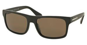 Prada PR 18PS TFD4SO DARK BROWNMATTE BROWN