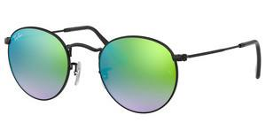 Ray-Ban RB3447 002/4J MIRROR GRADIENT GREENSHINY BLACK