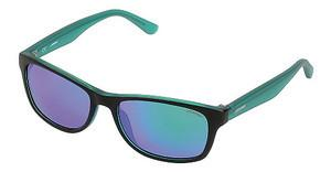 Sting SSJ598 7SGV SMOKE MULTILAYER GREENSEMI MATT BLACK/TURQUOISE