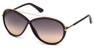 Tom Ford FT0454 81Z violett ver.violett glanz