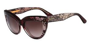 Valentino V709S 628 BORDEAUX FADED LACE
