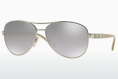 Solglasögon Burberry BE3080 10056V - Silver