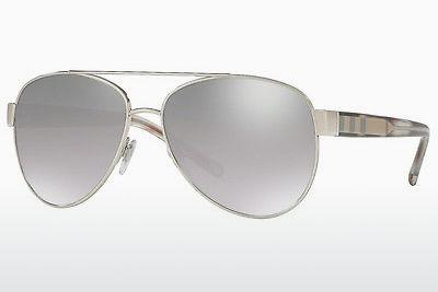 Solglasögon Burberry BE3084 10056V - Silver