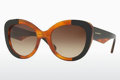 Solglasögon Burberry BE4253 365013 - Svart, Orange