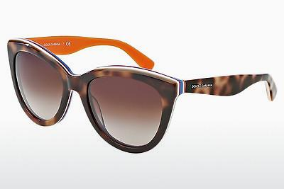 Solglasögon Dolce & Gabbana MULTICOLOR (DG4207 276513) - Brun, Havanna, Orange