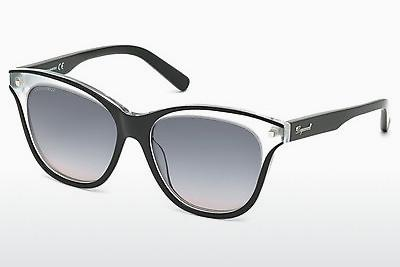 Solglasögon Dsquared DQ0210 03B - Svart, Transparent