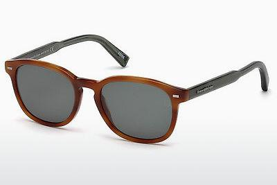 Solglasögon Ermenegildo Zegna EZ0005 53N - Havanna, Yellow, Blond, Brown