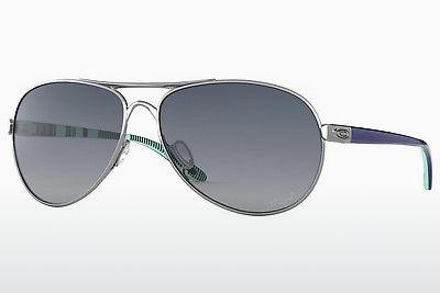 Solglasögon Oakley FEEDBACK (OO4079 407907) - Vit, Chrome