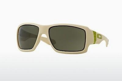 Solglasögon Oakley BIG TACO (OO9173 917307) - Vit, Bone
