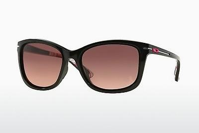 Solglasögon Oakley DROP IN (OO9232 923212) - Svart, Rosa