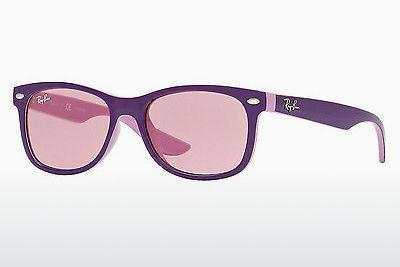 Solglasögon Ray-Ban Junior RJ9052S 179/84 - Purpur, Rosa