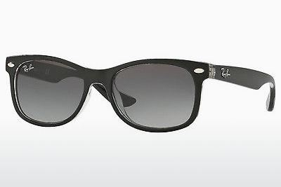 Solglasögon Ray-Ban Junior RJ9052S 702211 - Svart, Transparent