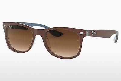 Solglasögon Ray-Ban Junior RJ9052S 703513 - Brun, Blå