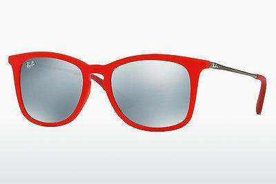 Solglasögon Ray-Ban Junior RJ9063S 701030 - Transparent, Röd