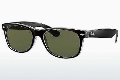 Solglasögon Ray-Ban NEW WAYFARER (RB2132 6052) - Svart, Transparent