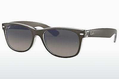 Solglasögon Ray-Ban NEW WAYFARER (RB2132 614371) - Grå, Transparent
