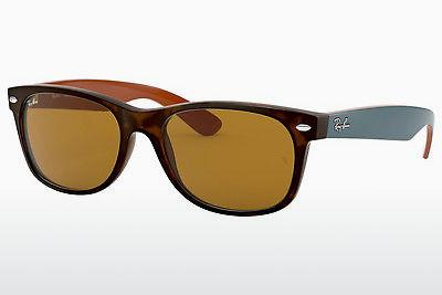 Solglasögon Ray-Ban NEW WAYFARER (RB2132 6179) - Brun, Havanna