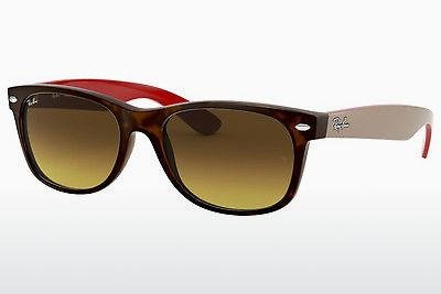 Solglasögon Ray-Ban NEW WAYFARER (RB2132 618185) - Brun, Havanna