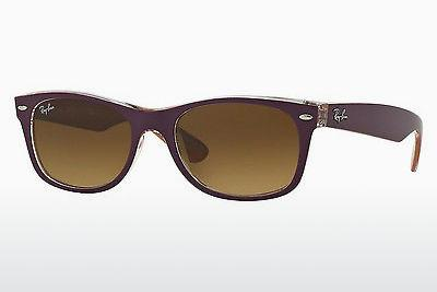 Solglasögon Ray-Ban NEW WAYFARER (RB2132 619285) - Purpur, Violet