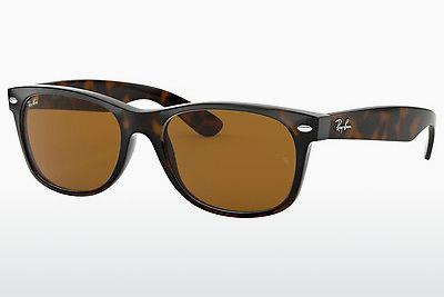 Solglasögon Ray-Ban NEW WAYFARER (RB2132 710) - Brun, Havanna