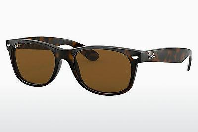 Solglasögon Ray-Ban NEW WAYFARER (RB2132 902/57) - Brun, Havanna