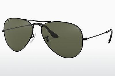 Solglasögon Ray-Ban AVIATOR LARGE METAL (RB3025 002/58) - Svart