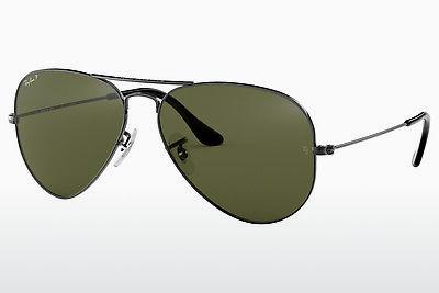 Solglasögon Ray-Ban AVIATOR LARGE METAL (RB3025 004/58) - Grå, Mässing/koppar