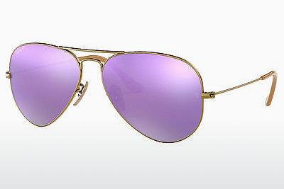 Solglasögon Ray-Ban AVIATOR LARGE METAL (RB3025 167/1R) - Brun