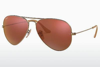 Solglasögon Ray-Ban AVIATOR LARGE METAL (RB3025 167/2K) - Brun