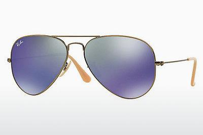 Solglasögon Ray-Ban AVIATOR LARGE METAL (RB3025 167/68) - Brun