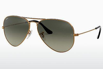Solglasögon Ray-Ban AVIATOR LARGE METAL (RB3025 197/71) - Brun