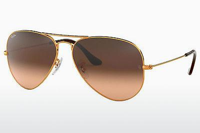 Solglasögon Ray-Ban AVIATOR LARGE METAL (RB3025 9001A5) - Brun