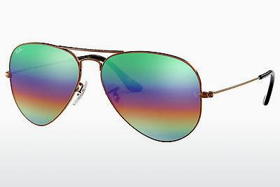 Solglasögon Ray-Ban AVIATOR LARGE METAL (RB3025 9018C3) - Brun