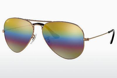 Solglasögon Ray-Ban AVIATOR LARGE METAL (RB3025 9020C4) - Grå, Brun