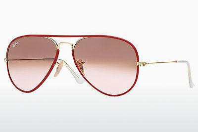 Solglasögon Ray-Ban AVIATOR FULL COLOR (RB3025JM 001/X3) - Guld, Röd