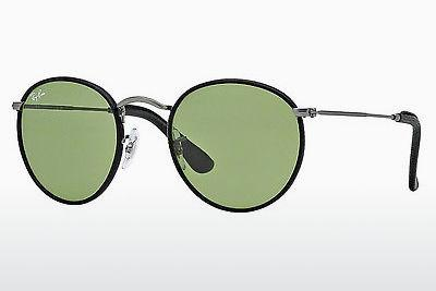 Solglasögon Ray-Ban ROUND CRAFT (RB3475Q 029/14) - Grå, Mässing/koppar