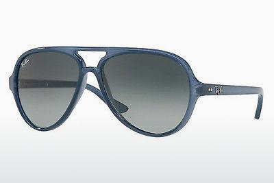 Solglasögon Ray-Ban CATS 5000 (RB4125 630371) - Transparent, Blå