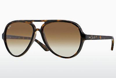 Solglasögon Ray-Ban CATS 5000 (RB4125 710/51) - Brun, Havanna
