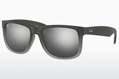 Solglasögon Ray-Ban JUSTIN (RB4165 852/88) - Grå, Transparent