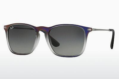 Solglasögon Ray-Ban CHRIS (RB4187 622311) - Purpur, Svart