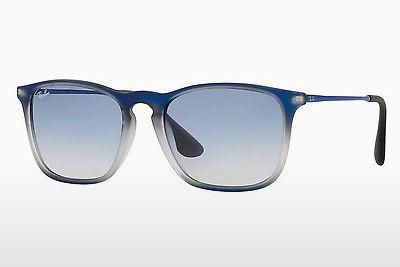 Solglasögon Ray-Ban CHRIS (RB4187 622519) - Blå, Svart