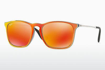 Solglasögon Ray-Ban CHRIS (RB4187 63206Q) - Grå, Orange